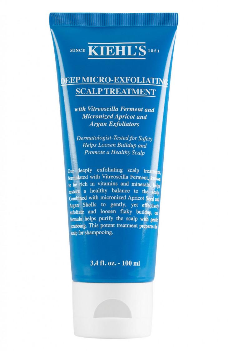Скраб для интенсивного очищения кожи головы Deep Micro-exfoliating Scalp Treatment от Kiehl's