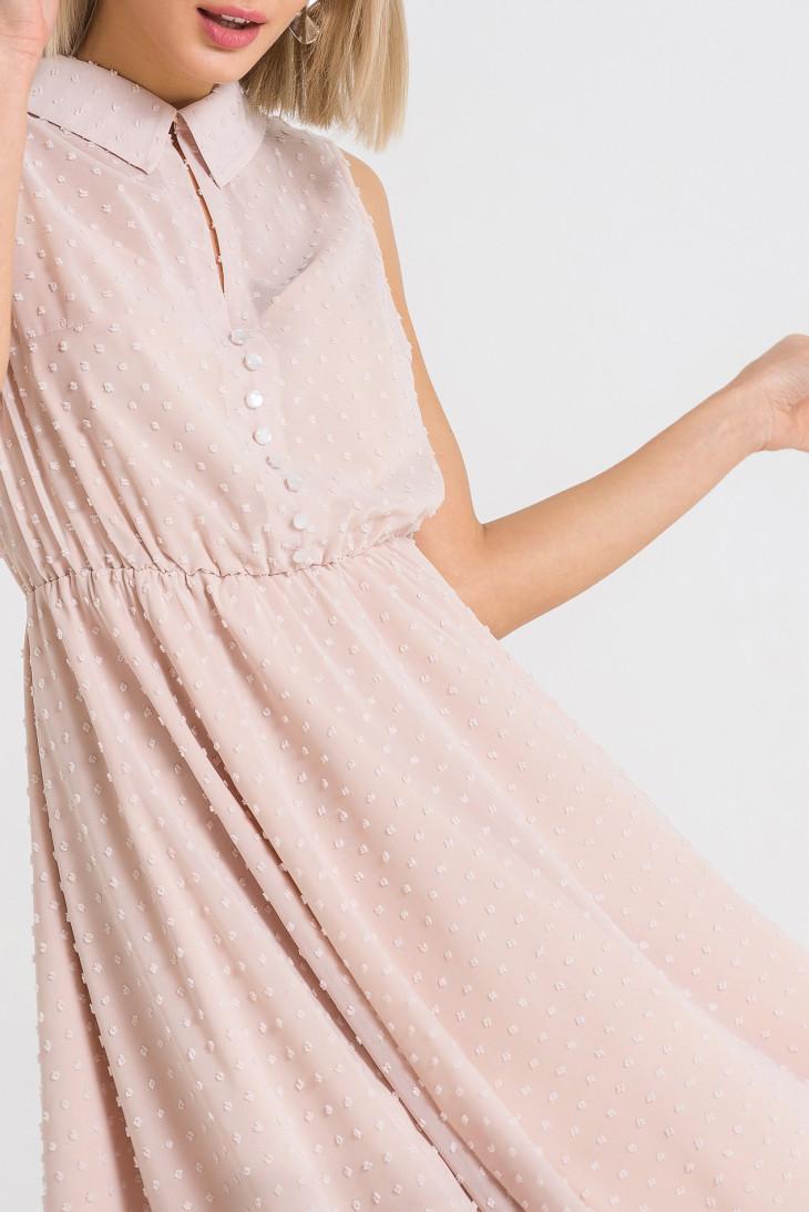 Платье из шифона VOVK