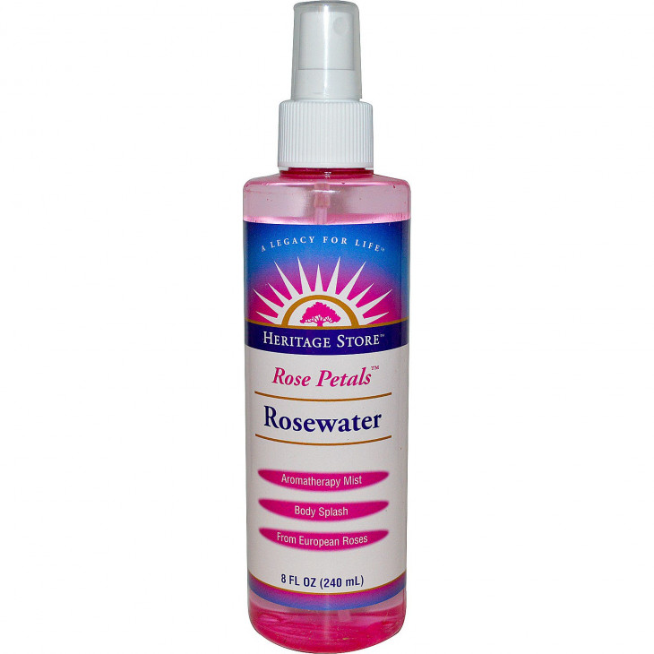 Heritage Store Rosewater & Glycerin Spray