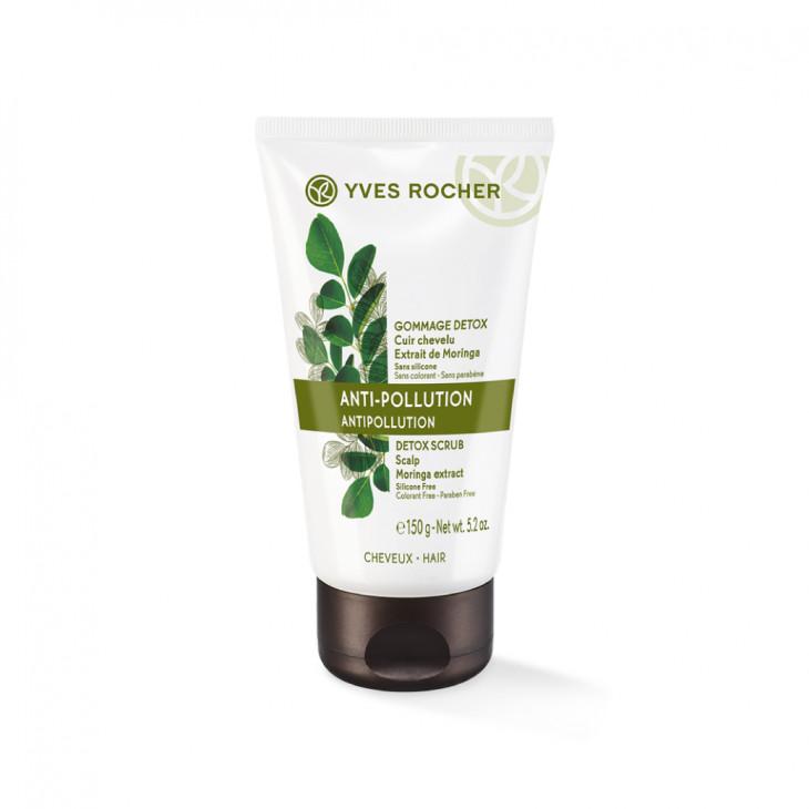 Крем-гоммаж для кожи головы «Детокс и восстановление» от Yves Rocher