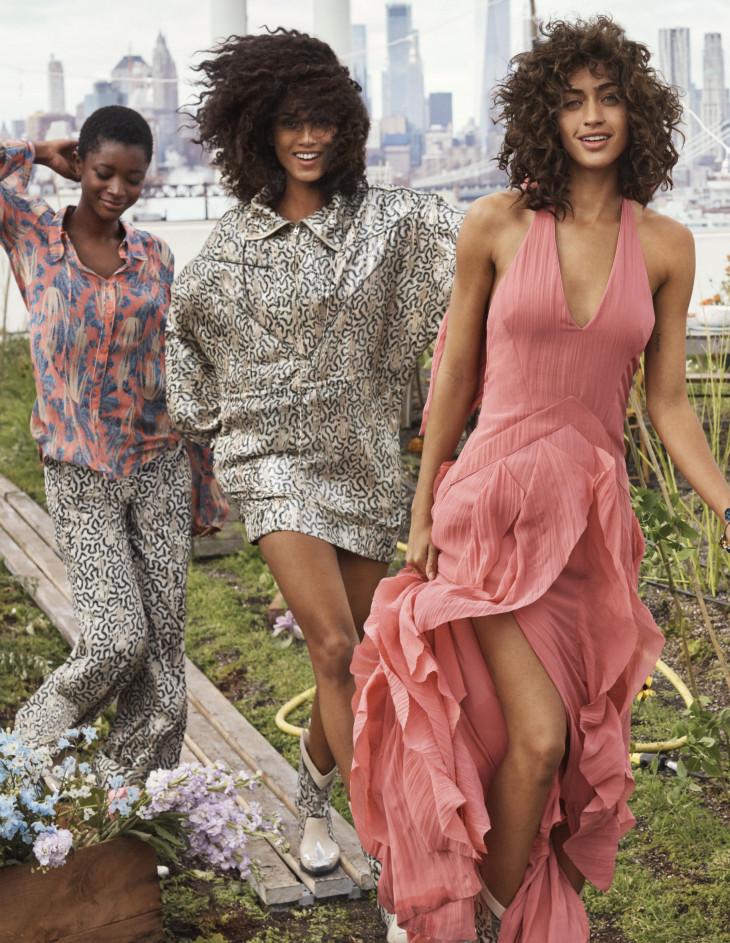 Коллекция Conscious Exclusive H&M модели