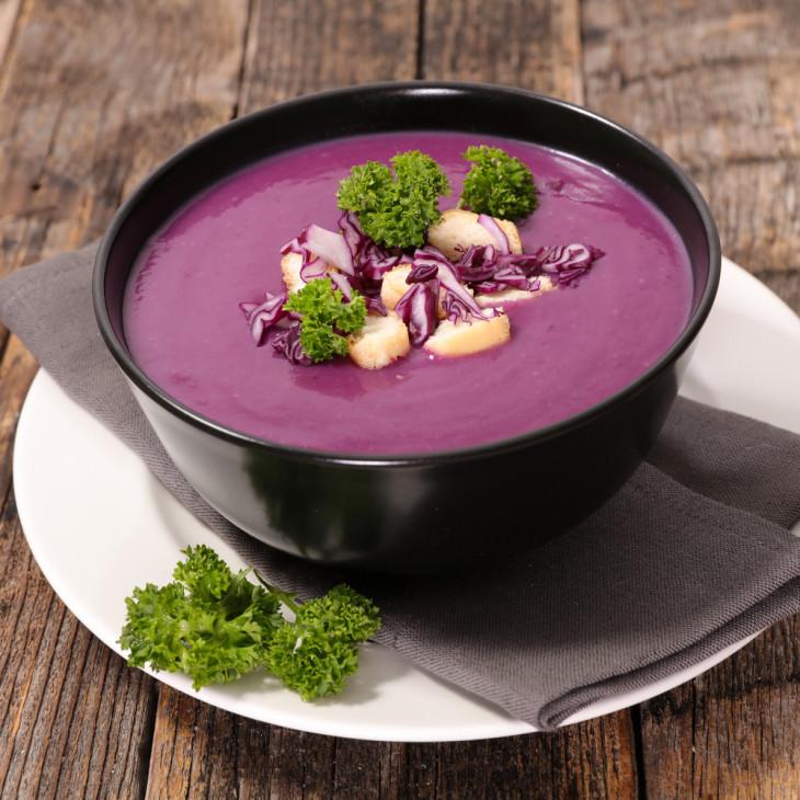 Диетический суп для похудения с капустой