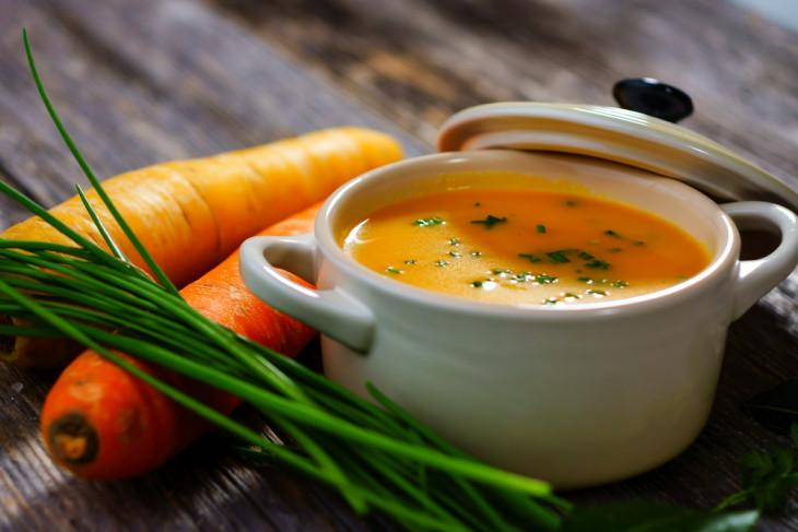 Морковный суп для похудения