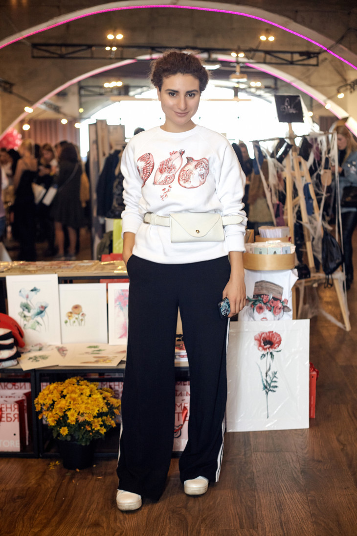 Корнер украинского дизайнера одежды