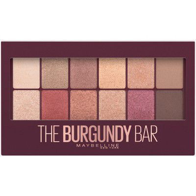 Maybelline The Burgundy Bar Eyeshadow Palette Makeup