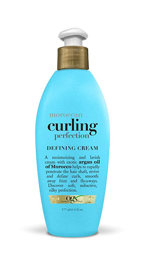 Organix Moroccan curling perfection Defining Cream