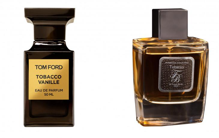 Tom Ford Tobacco Vanille и Franck Boclet Tobacco