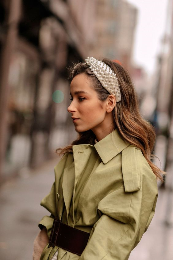 Модные ободки для волос