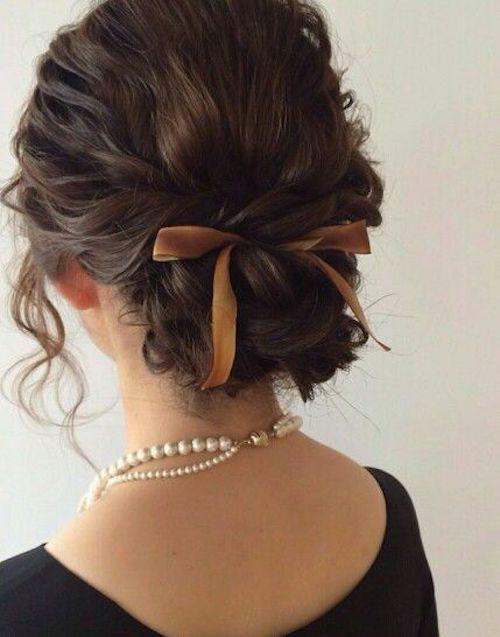Прическа на выпускной для коротких волос