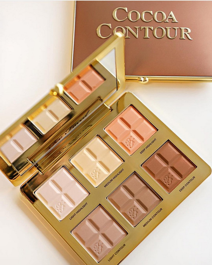 Cocoa Contour Cocoa-Infused Contouring and Highlighting Palette от Too Faced