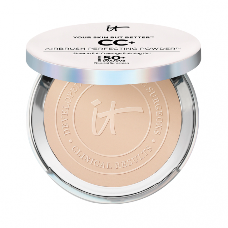 IT Cosmetics Your Skin But Better CC+ Airbrush Perfecting Powder SPF 50+