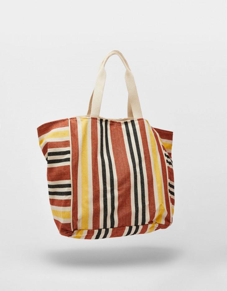 сумка шопер bershka