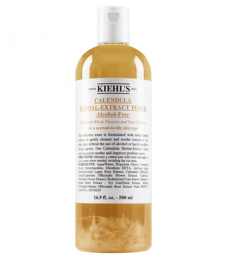 Бесспиртовой тоник с календулойCalendula Herbal Extract Alcohol Free Toner от Kiehl's
