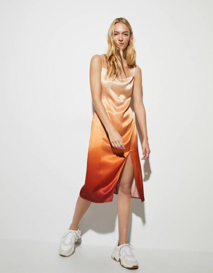 платье с эффектом деграде