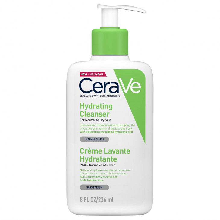 Увлажняющий очищающий крем CeraVe Hydrating Facial Cleanser