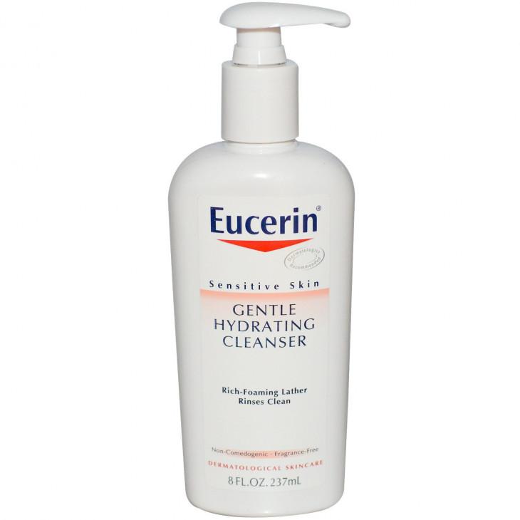 Мягкое увлажняющее очищающее средство Gentle Hydrating Cleanser, Eucerin