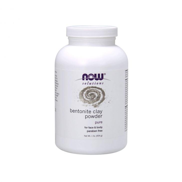 Порошок бентонитовой глины Bentonite Clay Powder от Now Foods