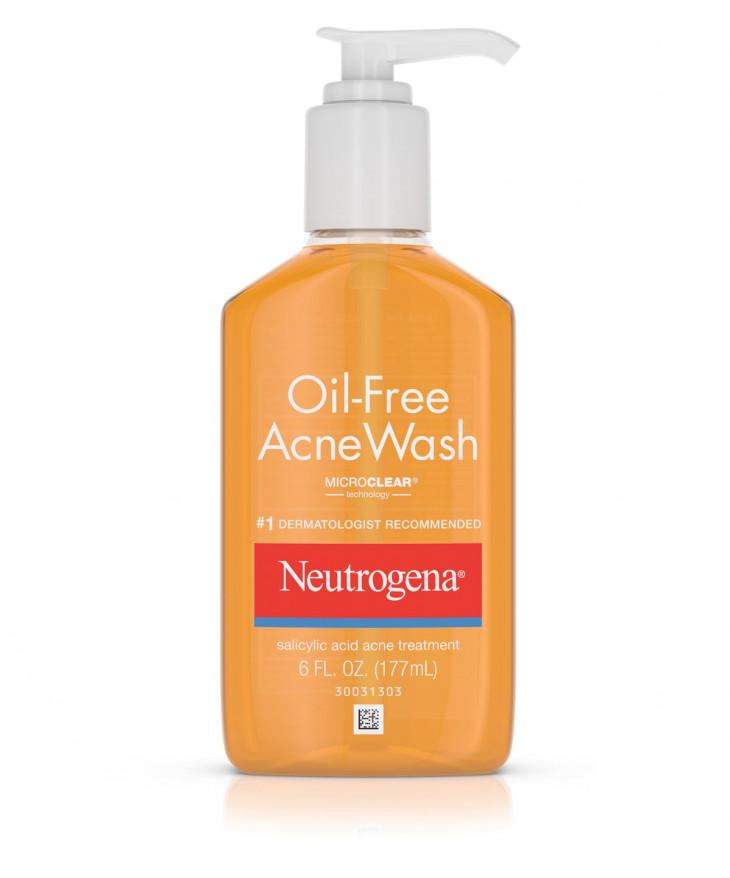 Очищающее средство Neutrogena, Oil-Free Acne Wash