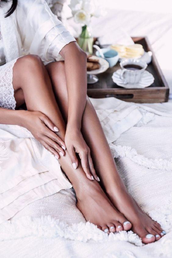 гладкая кожа на ногах