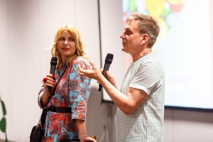 Парфюмеры Евгений Лазарчук и Елена Белова