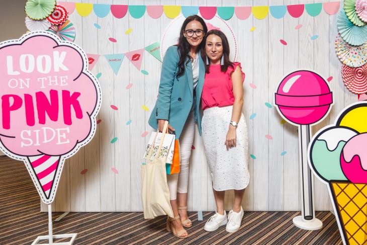 Виктория Смыковская и Даша Калинина