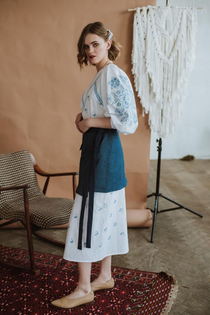 Платье-вышиванка 2KOLYORY