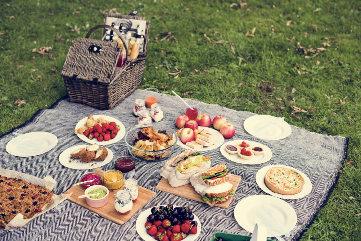 Полезный перекус для пикника