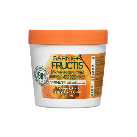 Garnier Fructis Damage Repairing Treat 1 Minute Hair Mask