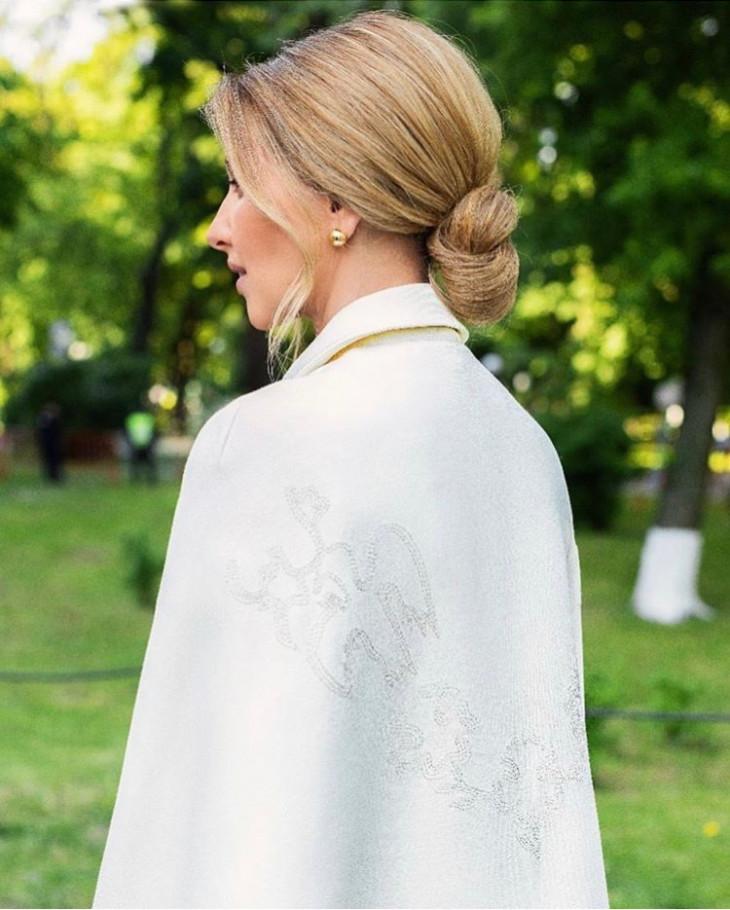 Елена Зеленская в день инаугурации