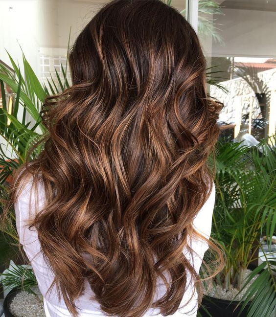 Мелирование для русых волос