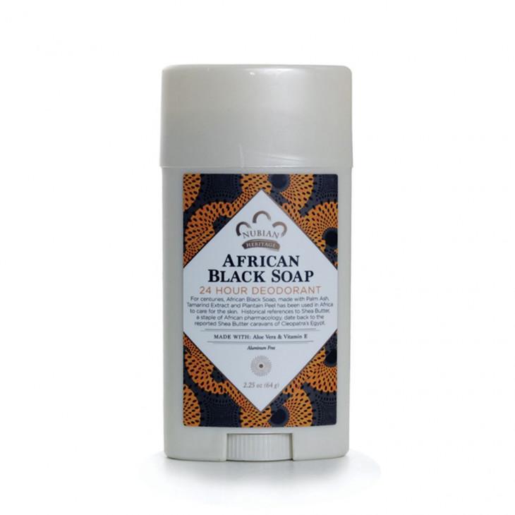 Nubian Heritage African Black Soap 24-Hour Deodorant