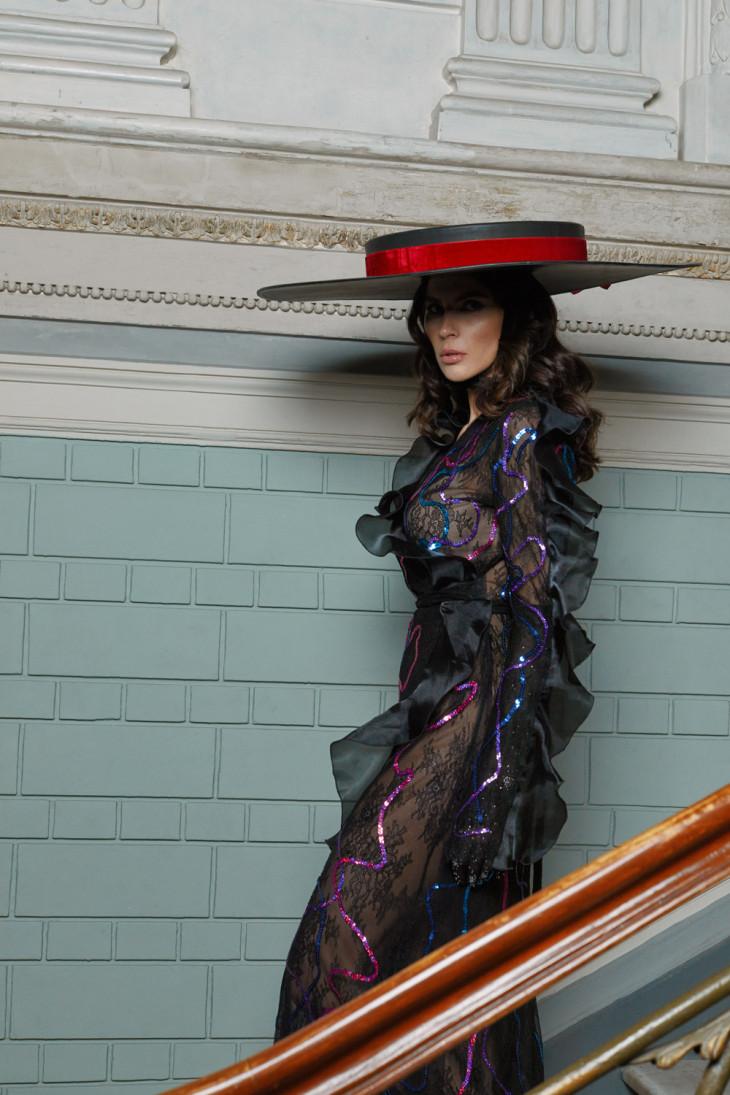 Платье Alexander Kuzyomin модель Алла Шереметьева