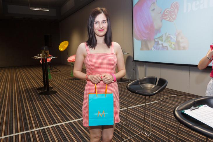Победительница с подарком от MOROCCANOIL