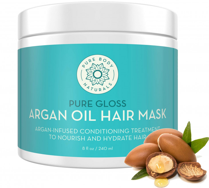 Pure Gloss Argan Oil Hair Mask