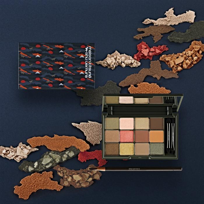 Коллекция макияжа Shu Uemura x Maison Kitsune collection