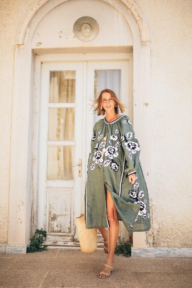 Платье-вышиванка Varenyky Fashion