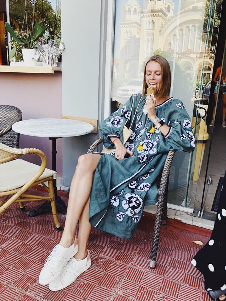Платье в этно-стиле Varenyky Fashion