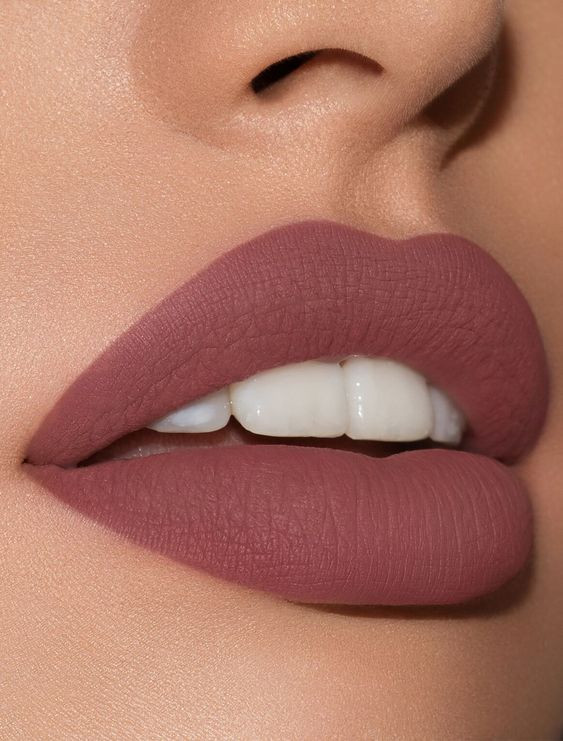 Матовые губы