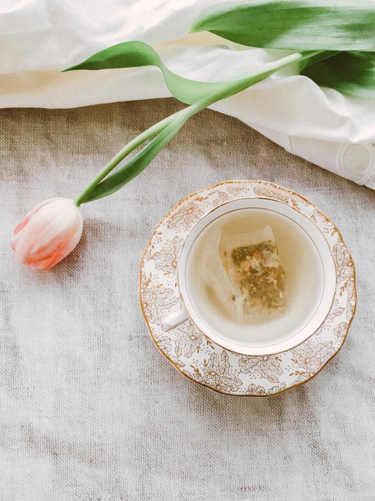 Польза чая для кожи
