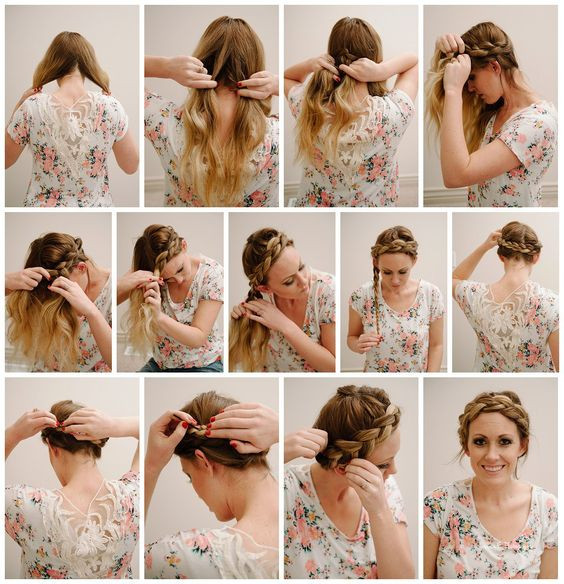 Плетение кос пошагово