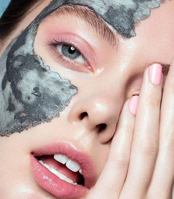 маска с глиной