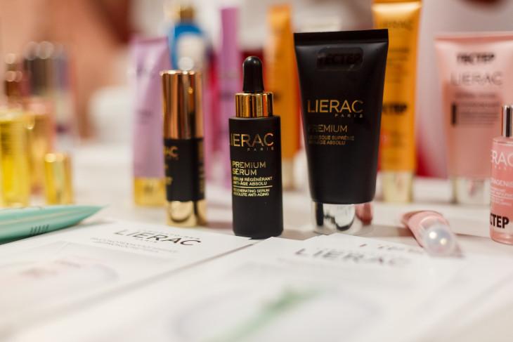 Продукция бренда LIERAC