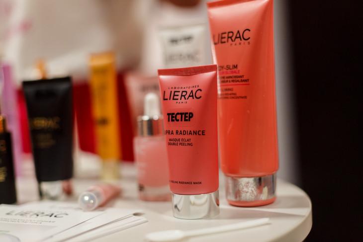 Продукция от бренда LIERAC