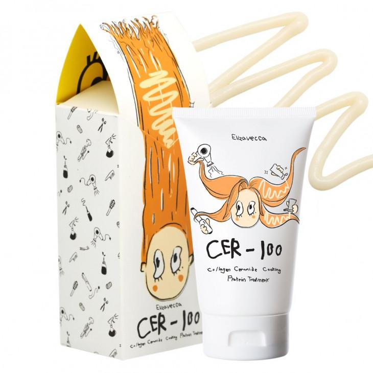 Маска для волосElizavecca Milky Piggy Collagen Ceramide Coating Protein Treatment
