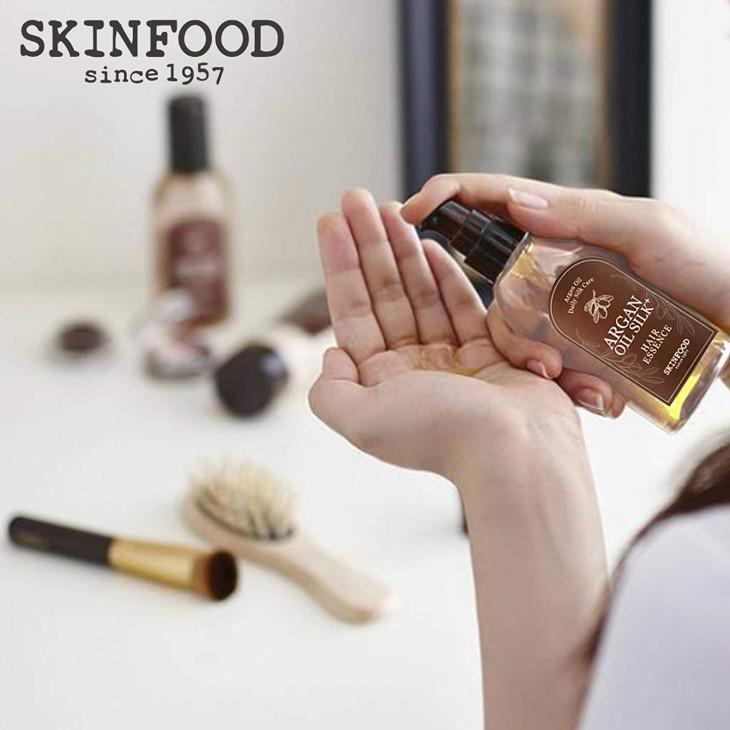 Аргановая эссенция для волос Skin Food Argan Oil Silk Hair Essence