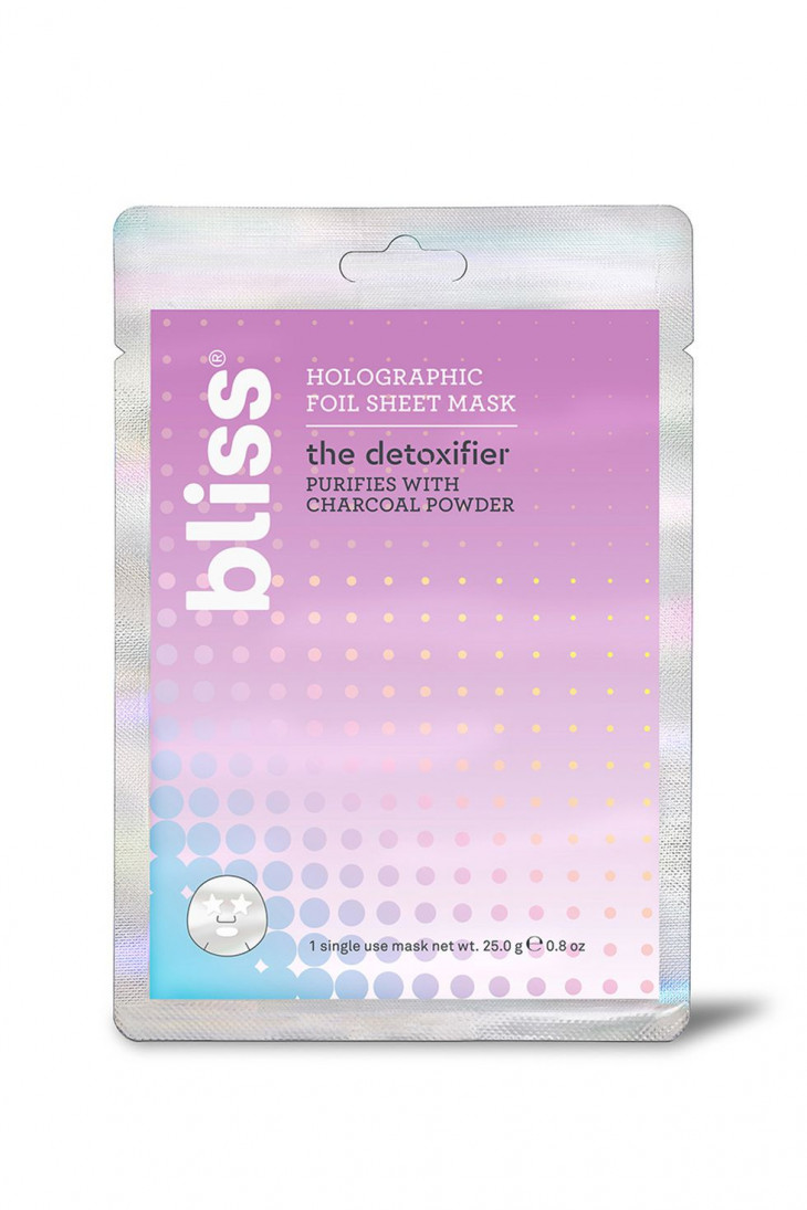 Bliss Hangover Fix Holographic Foil Sheet Mask