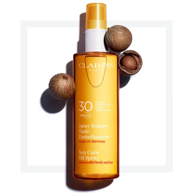 Clarins Sun Care Oil Spray