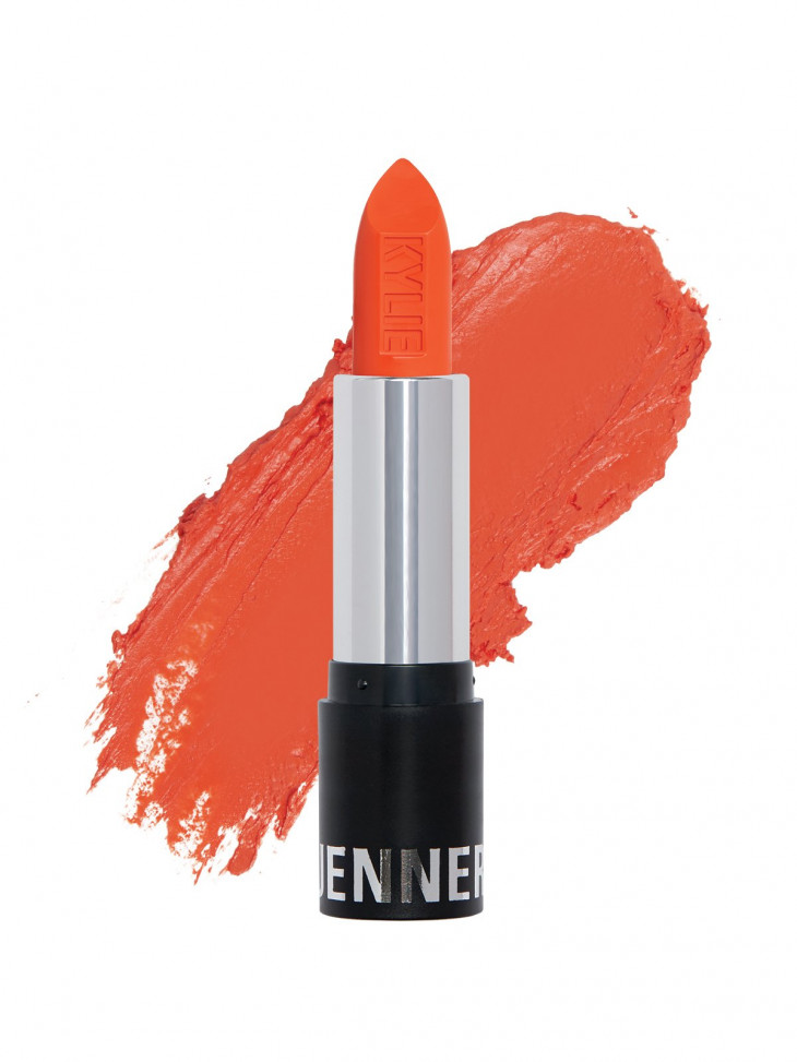 Kylie Cosmetics Tangerine Matte Lipstick, оттенок Neon Melon