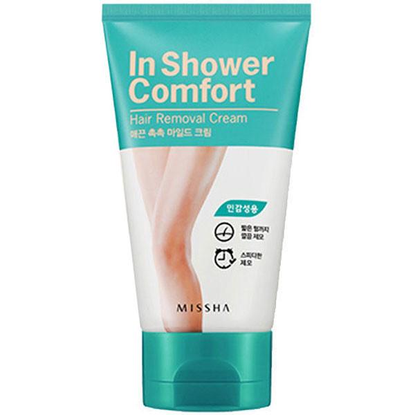 Missha In Shower Comfort Hair Removal Cream For Sensitive Skin Types