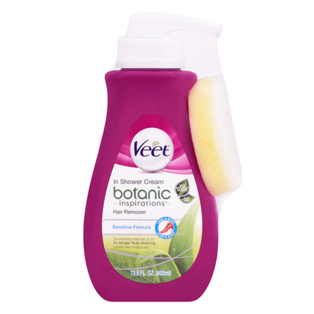 Veet In Shower Botanic Inspirations Legs and Body Hair Removal Cream